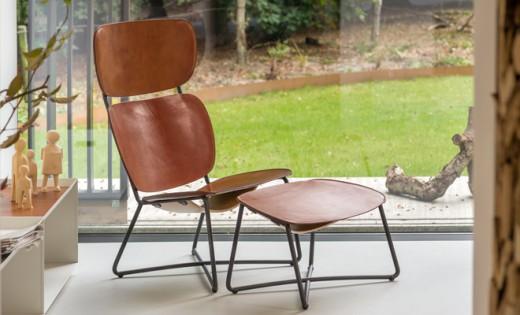 Interieur inspiratie de populaire miller lounge chair krijgt een