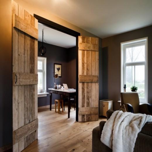 Interieur inspiratie cre r een warme sfeer met deze vloeren - Interieur eigentijds houten huis ...