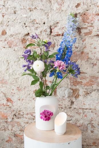 vaas-bloem