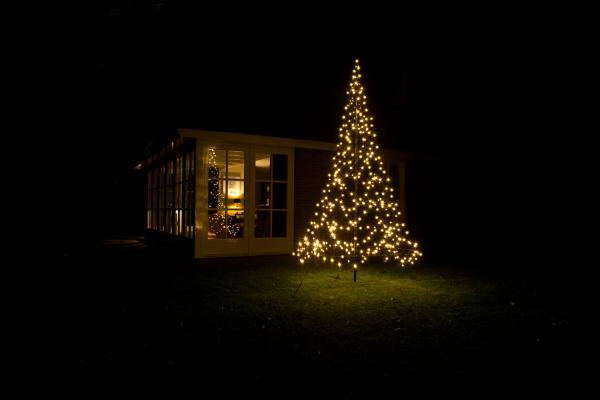 kerstboom tuin