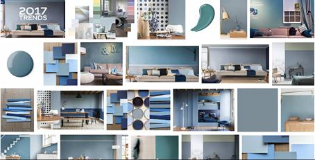 Interieur Ice Blauw : Interieur inspiratie dÉ kleur voor 2017: denim