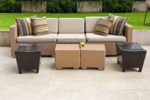 Het inrichten van een outdoor lounge