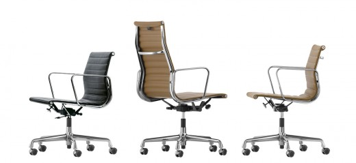 Aluminium Chair EA 117 bureaustoel