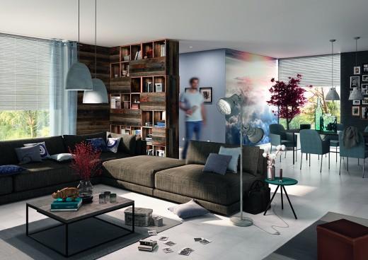 hornbach blauw interieur