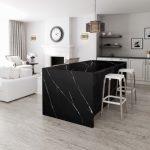 Silestone® Eternal Marquina: diepzwart meets krijtwit