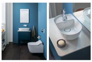 Een gasten-WC met Scandinavisch design