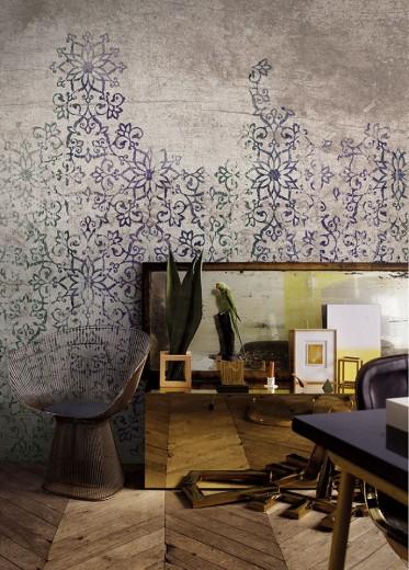 Interieur inspiratie kale muren schilderijen of behang for Raumgestaltung zich