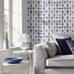 Nieuw behang geïnspireerd op traditionele patronentechniek