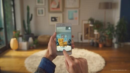 Nieuwe 'IKEA Place' app maakt het mogelijk interieurs virtueel in te richten