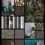 """Matières """"geraffineerde hout, steen en metaal effecten"""""""