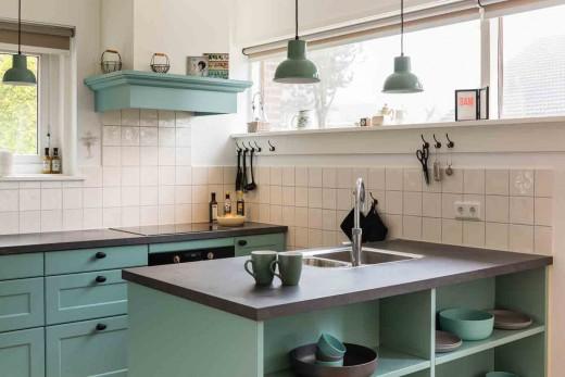 Keuken Schiereiland Landelijk : Interieur inspiratie keuken met schiereiland benut ruimte optimaal