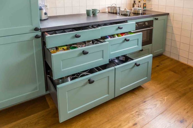 Groene Wandtegels Keuken : Landelijke keuken groen ecosia