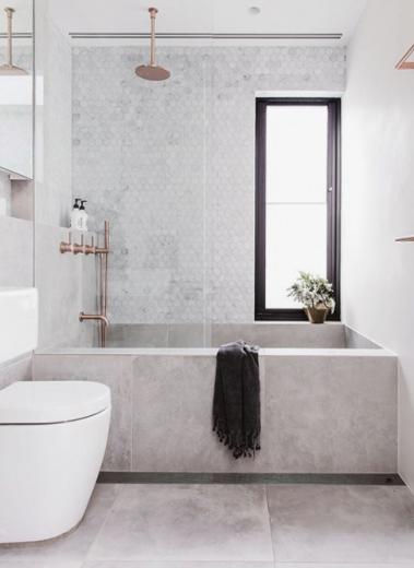 Spiksplinternieuw De Scandinavische stijl in je badkamer IJ-34