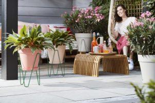 Loft Urban Frame zet planten op een voetstuk