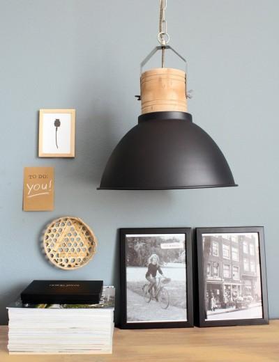 zwarte hanglamp