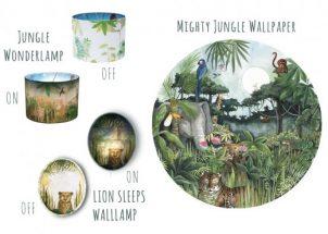 Je eigen doorkijk naar de Jungle met deze Hartendief collectie