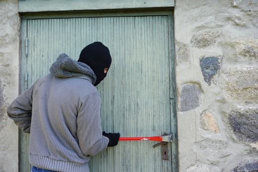 Inbrekers weren, een veilige woning