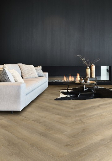 design visgraat vloer