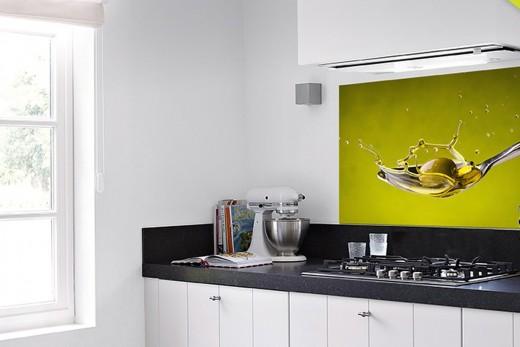 Opties Voor De Achterwand Van De Keuken