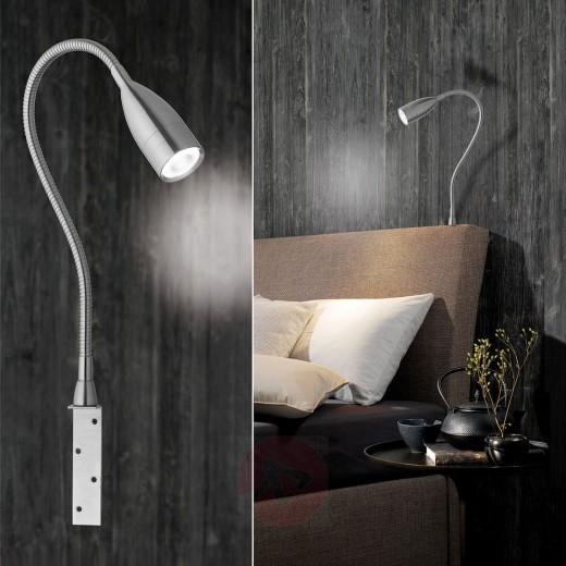 Wandlamp als leeslampje