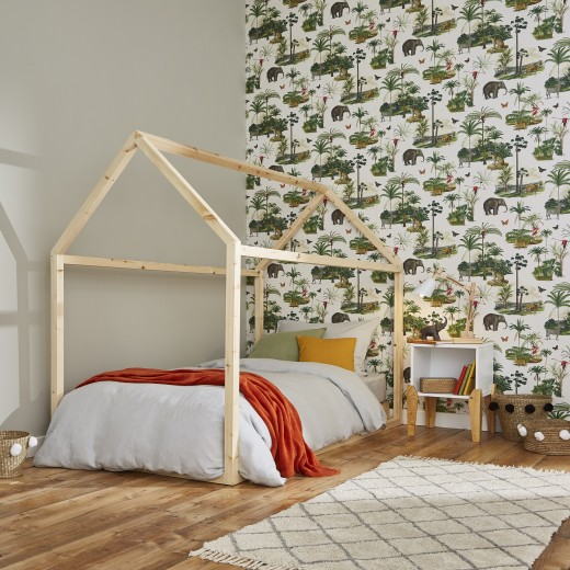 behang graham & brown kinderkamer dierentuin