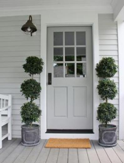 voordeur olijfboom