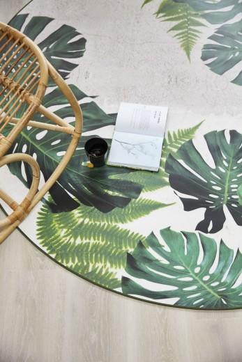Finally Vinyl Tropical Leaves