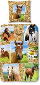 dekbedovertrek paarden