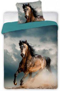 dekbedovertrek paard stoer