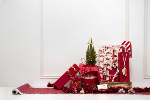 kerstdecoratie rood hema