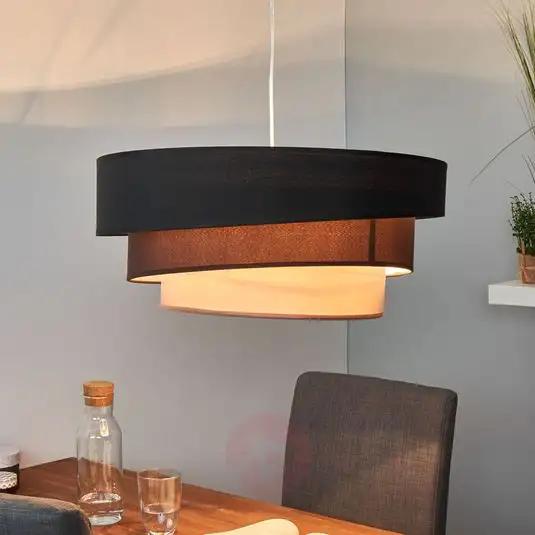 donkere lagen hanglamp