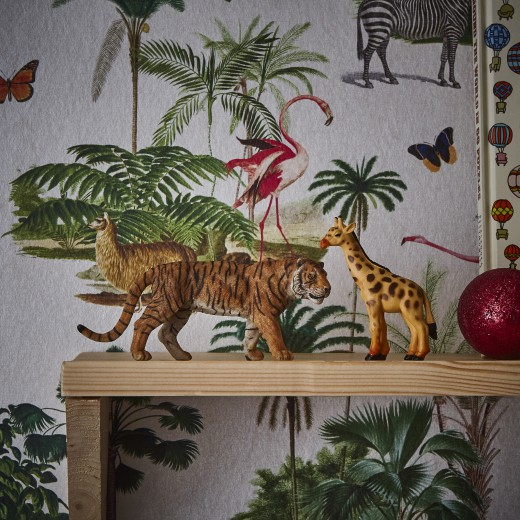 tropische zoo behang