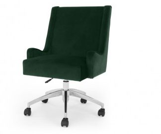 Bureaustoel donker groen