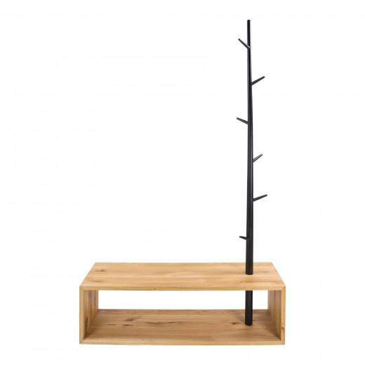 kapstok staand hout