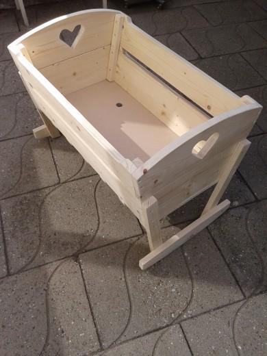steigerhout bed wieg