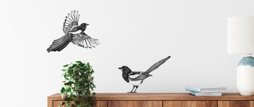 muurstickers vogels