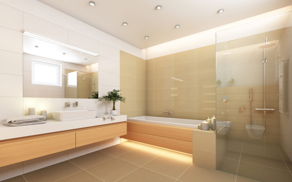 Philips Hue led strip badkamer