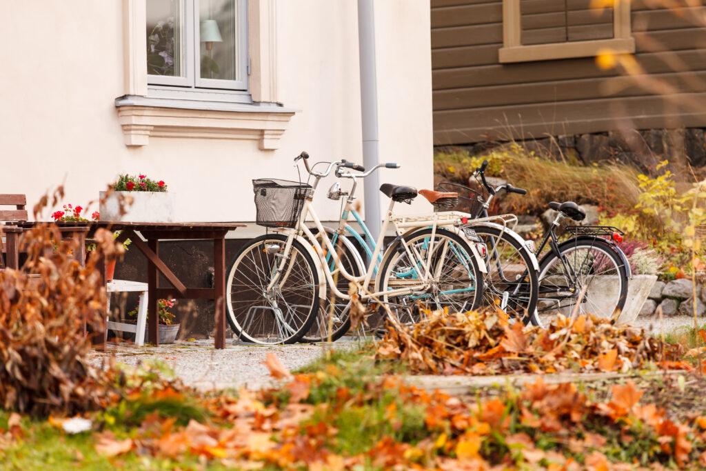 fiets opbergen