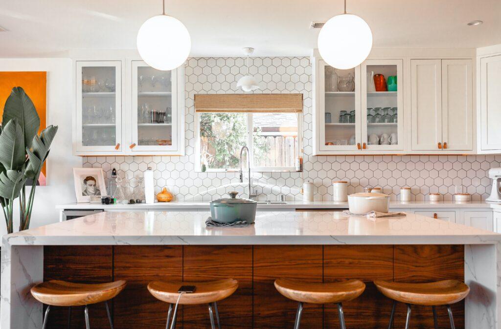 moderne look in uw keuken