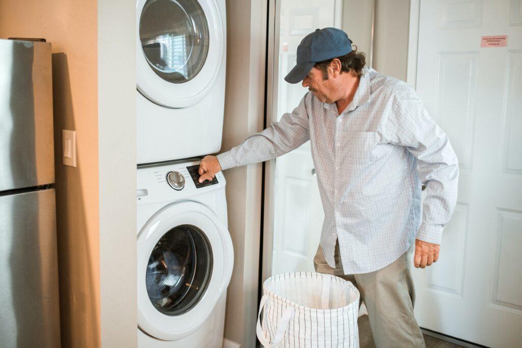 onderdelen van een wasmachine